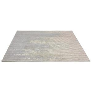 Tapis design DELY 160/230 cm dégradé gris et jaune