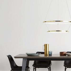 Evita, suspension LED, laiton