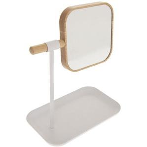 Miroir de salle de bain amovible scandi Natureo - Blanc - INSTANT DO