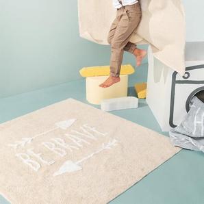Lytte Tapis lavables pour enfants Inka Be Brave Rose 150x225 cm - Tapis pour chambre denfants/bébé