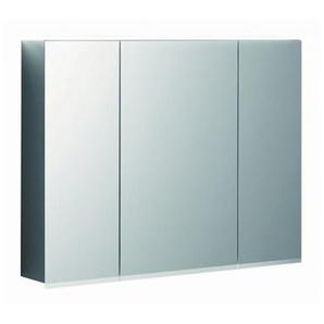 Geberit Armoire de toilette Geberit Option Plus Plus avec éclairage, trois portes, largeur 90 cm, 500594001 - 500.594.00.1