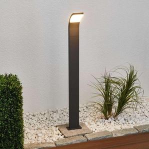 Borne lumineuse LED gris graphite Timm 100cm