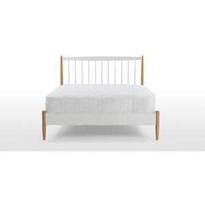 Malmeo, matelas double 140 x 200 cm, 1000 ressorts et mémoire de forme, blanc