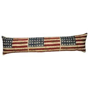 Homestreet Cushions Stars and Stripes Drapeau américain de qualité de Tapisserie Belge Boudin, Traversin ou au Sol Coussin 100% Coton
