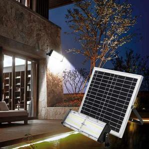 Lampe lumière solaire Led jardin et extérieur 5000 Lumens FLOOD - SUPERNOVA
