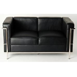 LC2 Le Corbusier  2 places  - Noir