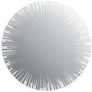 Miroir de salle de bains avec éclairage LED - Modèle Sun - Diamètre: 50 cm - PRADEL