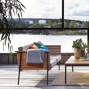 Skargaarden Table de salon Häringe - acier brossé - 85 x 85 cm