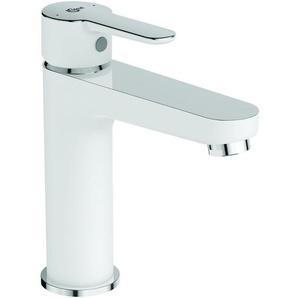 Ideal Standard Mitigeur de lavabo avec bonde clic-clac, blanc/chrome (BC202HO)