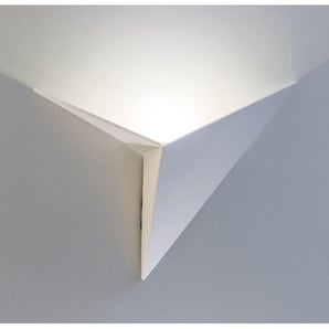 Applique murale LED ultra design London - Blanc - Blanc - Métal -