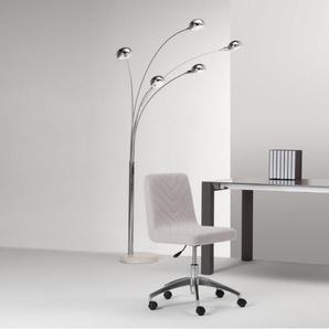 Lex, chaise de bureau, gris nuage