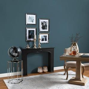 Tapis Vintage Cedar Bleu clair 300x400 cm - Tapis poil ras / effet usé