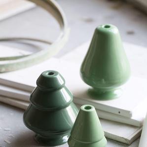 Kähler Design Bougeoir Avvento  - H 13 cm - vert