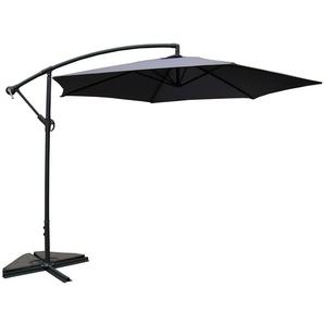 Porticcio gris : Parasol déporté Ø 300cm - CONCEPT-USINE