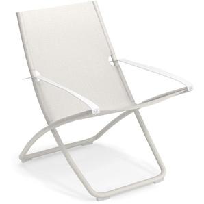 Emu Chaise longue Snooze - blanc/ blanc