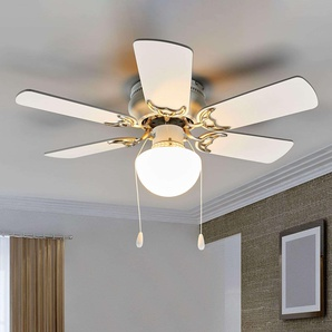 Ventilateur de plafond Flavio avec lumière