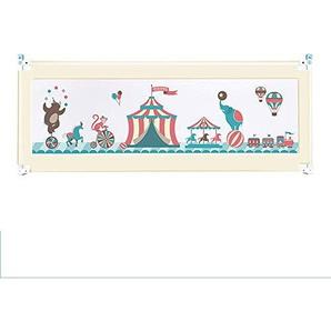 MY1MEY Rails de lit de Garde de lit pour bébé et Enfants en Bas âge (Beige, 180cm)