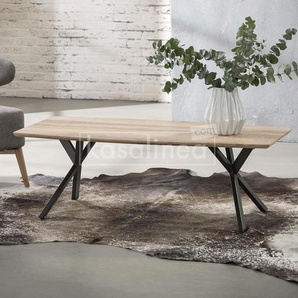 Table basse moderne couleur bois TIAGO
