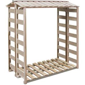 Abri de stockage du bois 150x100x176 cm Pin imprégné FSC - VIDAXL