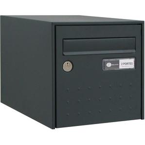 Boîte aux lettres STEELBOX SIMPLE FACE GRIS - DECAYEUX