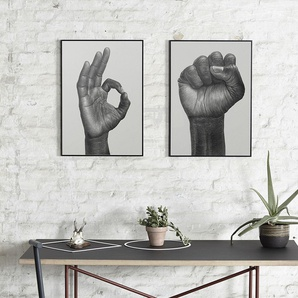 Paper Collective Raised Fist Poster - 50 x 70 cm