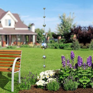 Tige à boules de jardin
