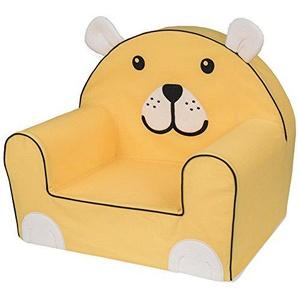 Bubaba - Fauteuil pour enfant, 12 designs différents, mousse résistante - super léger 1kg, fabriqué en UE, Thème:Yellow Bear
