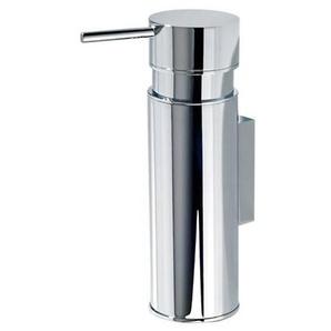 Decor Walther DW 435 - Distributeur de savon mural - chrome/brillant/PxH 17,5x10cm / 140ml/avec récipient interieur/avec pompe en métal