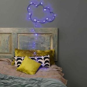 NUAGE-Nuage lumineux LED bleues dextérieur L55cm Argenté Blachere Illumination