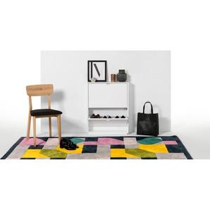 Marcell, petit meuble à chaussures, blanc