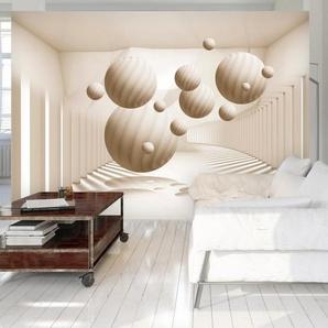Papier peint - Beige Balls
