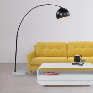 Rufus, un canapé 3 places, jaune moutarde
