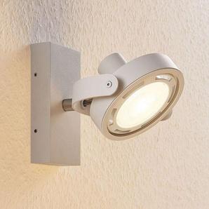 Spot LED Munin, dimmable, blanc, 1 lampe