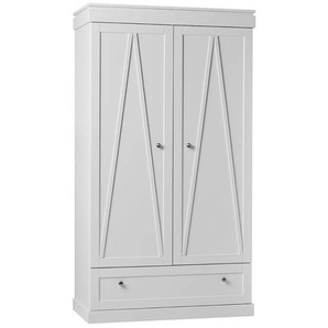 Armoire double blanche Marie