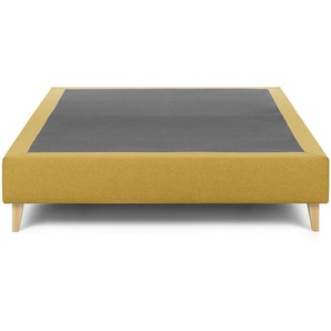 Kave Home - Base haute Nikos 150 x 190 cm moutarde