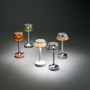 Flos Lampe de table Bon jour Unplugged - Chrome - transparent