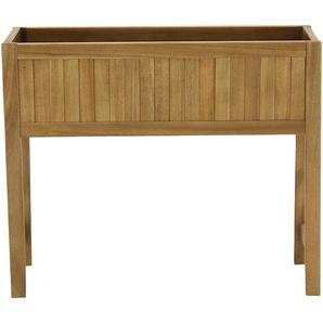 Jardinière en bois 60x20x50cm