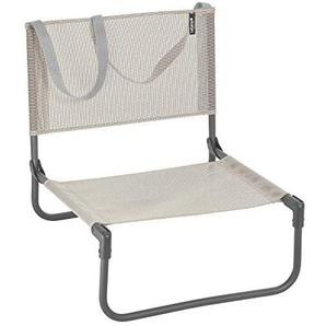Lafuma Chaise basse de camping, Pliable, CB, Batyline, Couleur: Seigle, LFM1210-8548