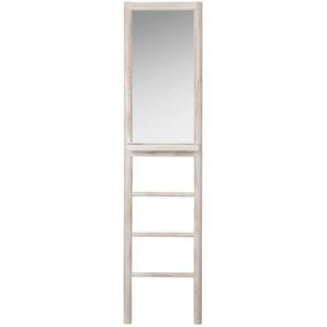Echelle blanchie avec miroir
