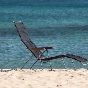 Houe Chaise longue Click Sunlounger - vert