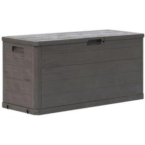 Boîte de rangement de jardin 280 L Marron - VIDAXL