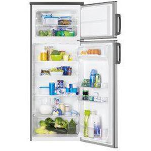 Réfrigérateur Combiné FAURE FRT27102XA - 265 litres Classe A+ Acier inoxydable