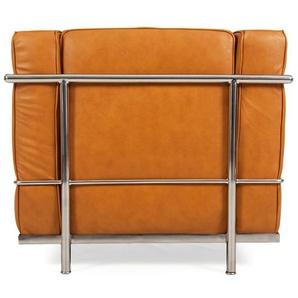 LC2 fauteuil Le Corbusier - Caramel
