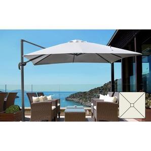Parasol de jardin 3x3 bras en aluminium carré PARADISE | sans volant - ELIOS PARASOLS