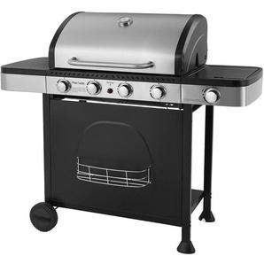 Barbecue au gaz HOUSTON - 4 + 1 brûleurs avec thermomètre - HAPPY GARDEN