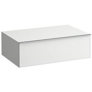 Laufen Space bloc-tiroir, 1 tiroir Soft-Close, 250x790x520, Coloris: Lumière en noyer - H4111611601011