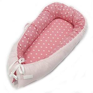 KSITH Reducteur LLit Inclinable pour Bébé, Berceau pour Bébé Nouveau-né en Coton, Chaise Longue Super Confortable Et Confortable pour Lit De Bébé
