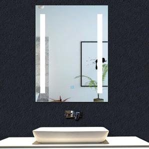 OCEAN Miroir de salle de bain 60x45cm anti-buée miroir mural avec éclairage LED modèle Moderne 2.0 - OCEAN SANITAIRE