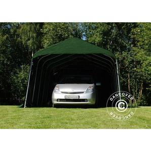 Tente Abri Voiture PRO 3,6x4,8x2,68m, PVC, Vert - DANCOVER
