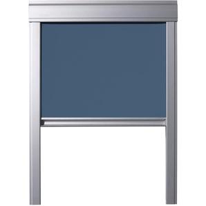 Store Occultant Itzala pour Fenêtres De Toit VELUX, S06, SK06, 606, 4, Bleu Pétrole
